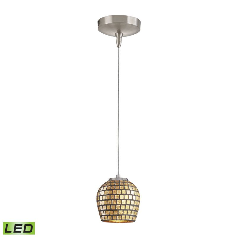Elk Lighting PF1000/1-LED-BN-GLD Low Voltage 1 Light LED Mini Pendant Sale $275.00 ITEM: bci2347112 ID#:PF1000/1-LED-BN-GLD UPC: 748119073231 :