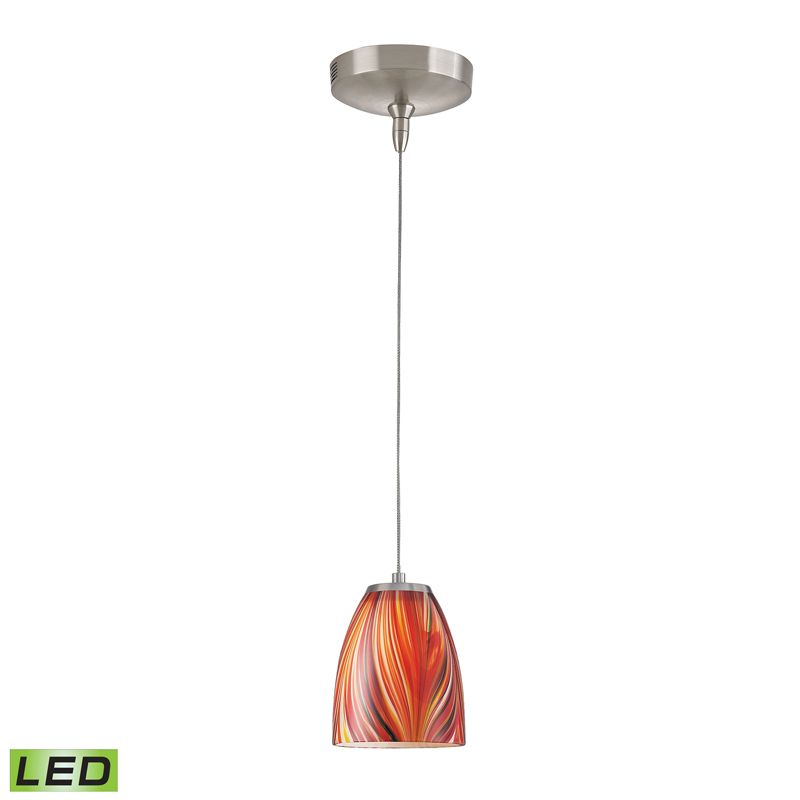 Elk Lighting PF1000/1-LED-BN-M Low Voltage 1 Light LED Mini Pendant Sale $275.00 ITEM: bci2347113 ID#:PF1000/1-LED-BN-M UPC: 748119073224 :