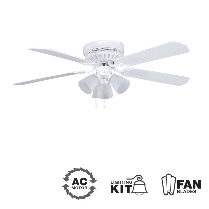 "Ellington Fans Celeste-L52 Builder 52"" 4 Blade Indoor Ceiling Fan -"