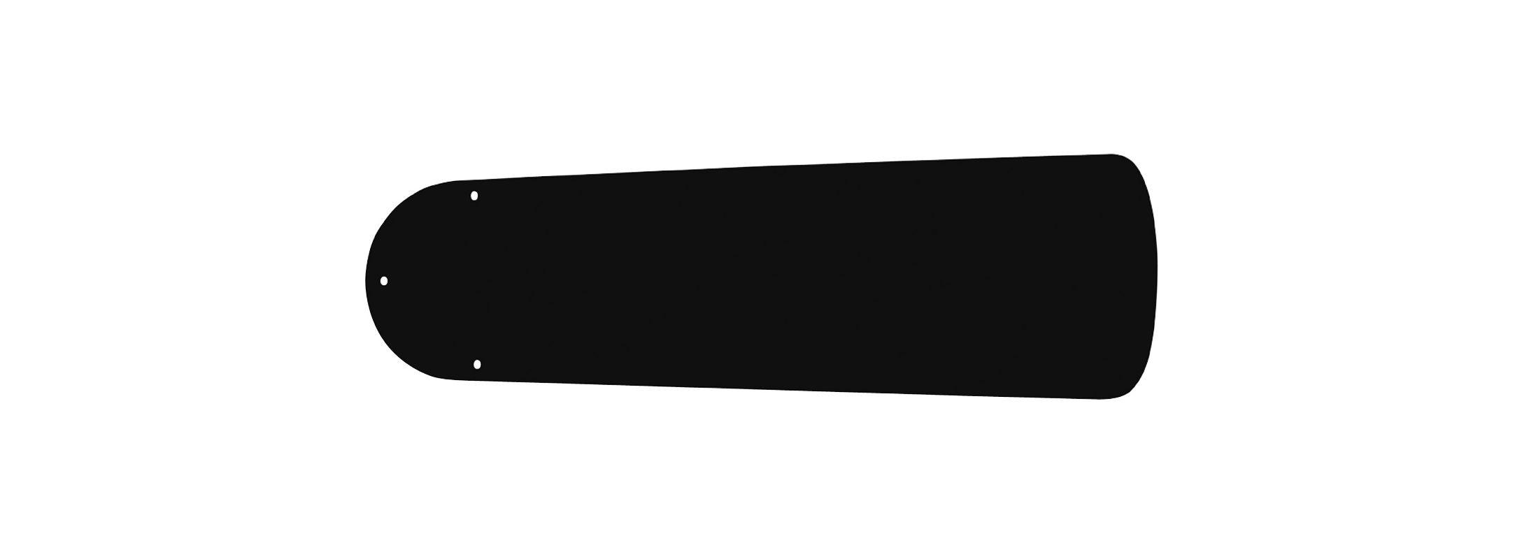 """Ellington Fans B44-WOD 44"""" Fan Blades Set of 5 ABS Black Ceiling Fan"""