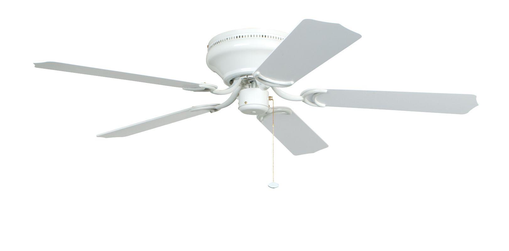Ellington Fans Brilliante 52&quote 5 Blade Indoor Hugger Ceiling Fan -