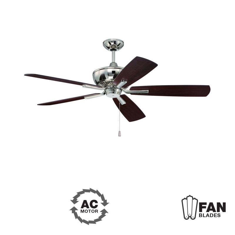 "Ellington Fans DUN525 Dunbar 52"" 5 Blade Indoor Ceiling Fan - Blades"