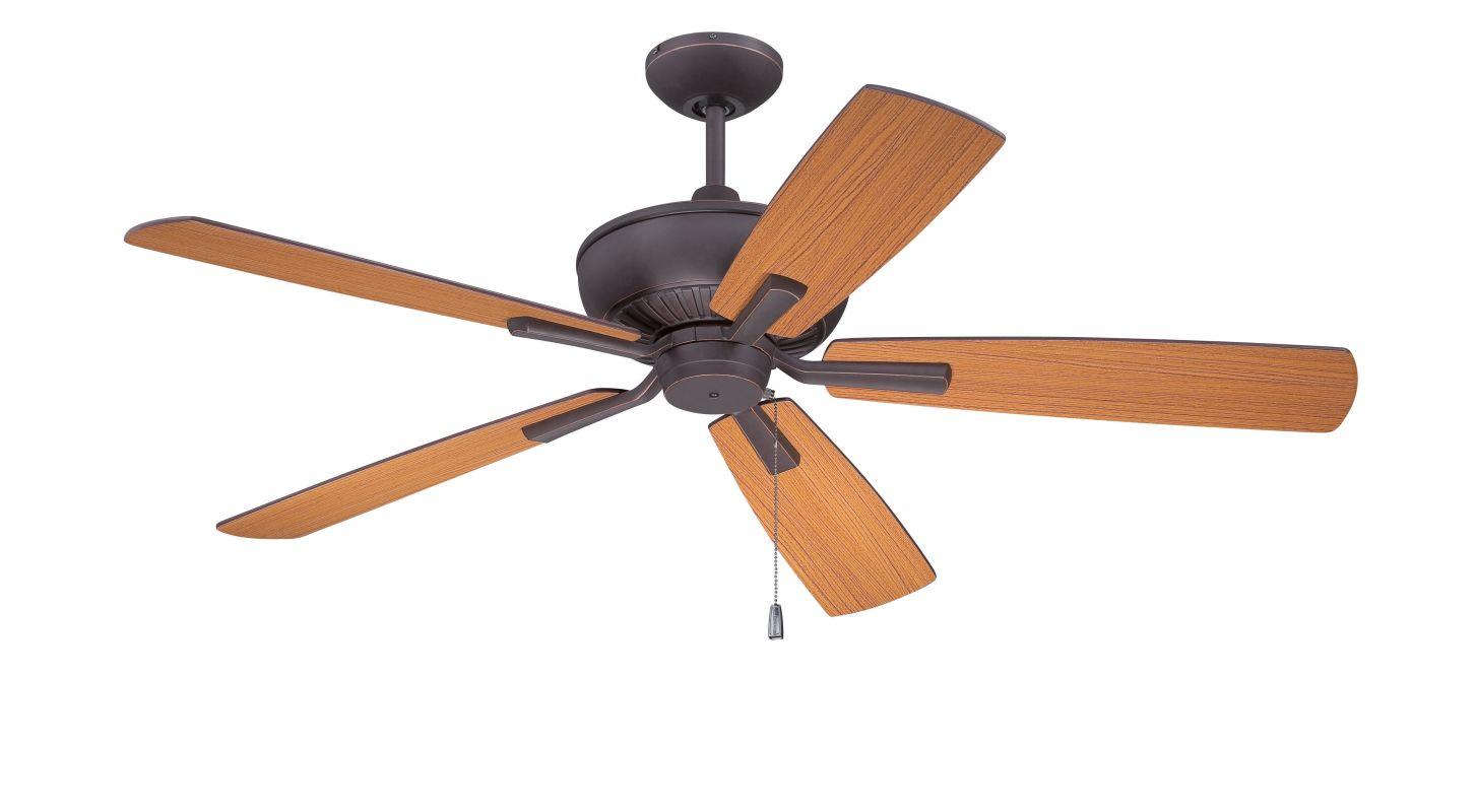 "Ellington Fans DUN52 Dunbar 52"" 5 Blade Hanging Indoor Ceiling Fan"