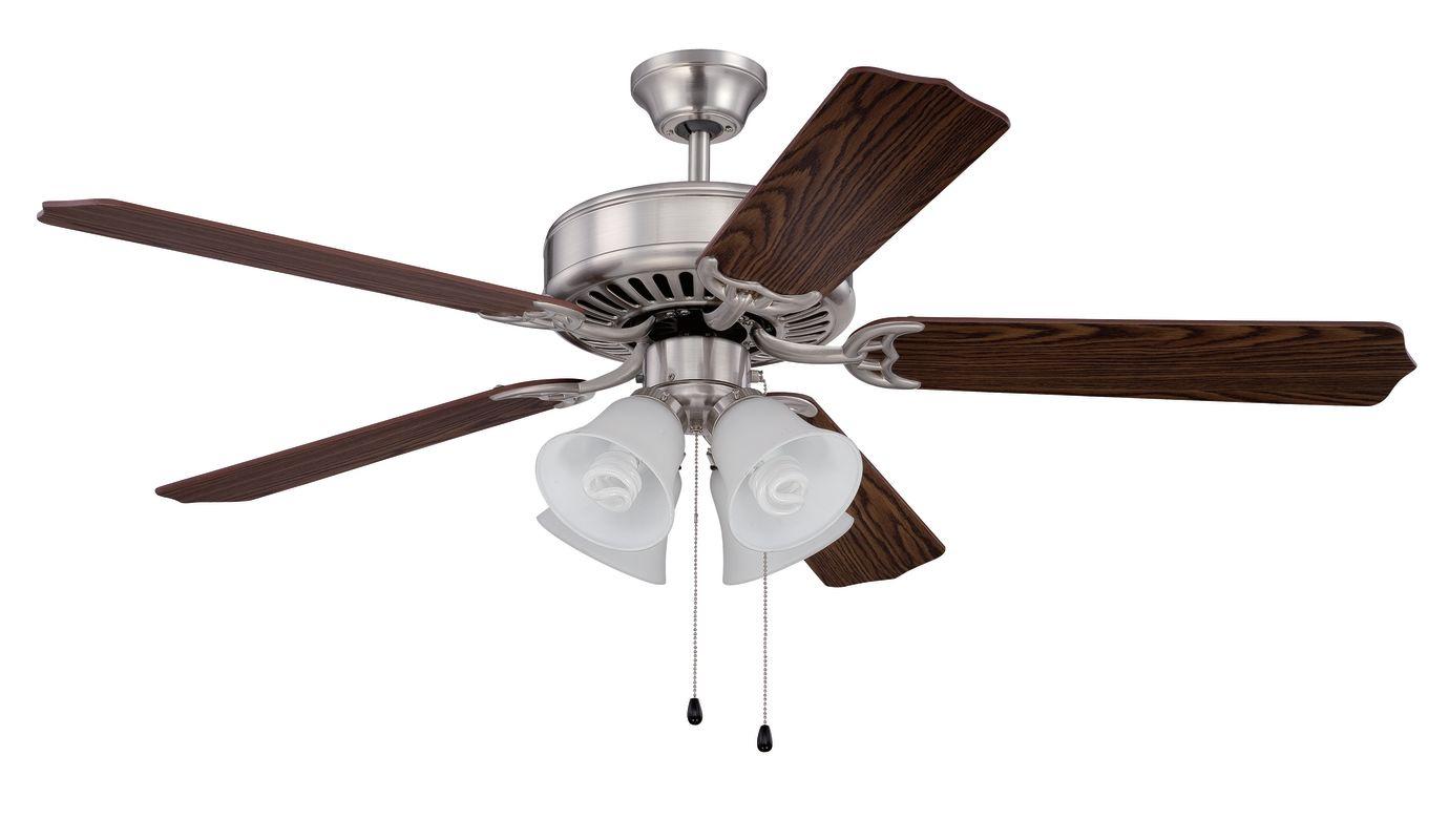 "Ellington Fans E203 Pro 52"" 5 Blade Indoor Ceiling Fan - Light Kit"