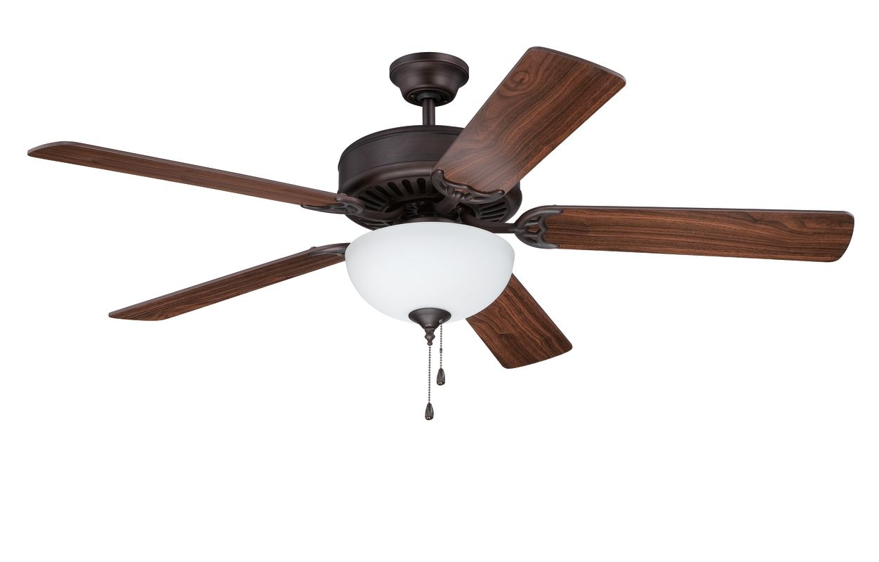 "Ellington Fans E207 Pro 52"" 5 Blade Indoor Ceiling Fan - Light Kit"