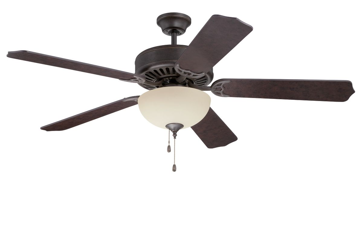 "Ellington Fans E208 Pro 52"" 5 Blade Indoor Ceiling Fan - Light Kit"