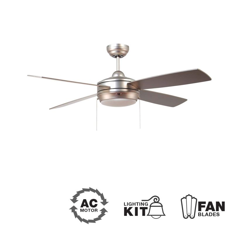 "Ellington Fans Laval-52 Modern 52"" 4 Blade Indoor Ceiling Fan - Blades"