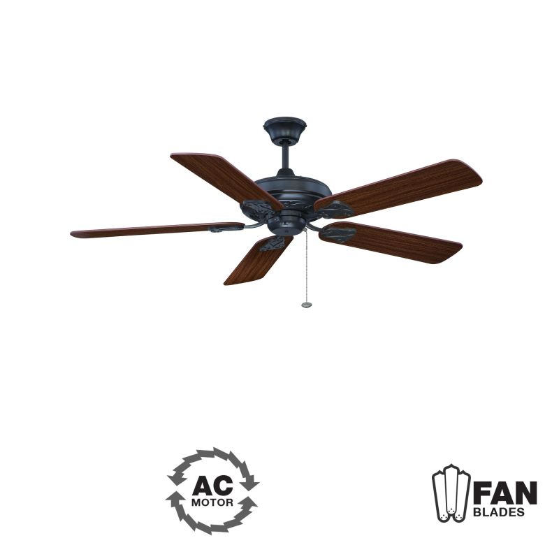 "Ellington Fans Majestic Classic 52"" 5 Blade Indoor Ceiling Fan -"