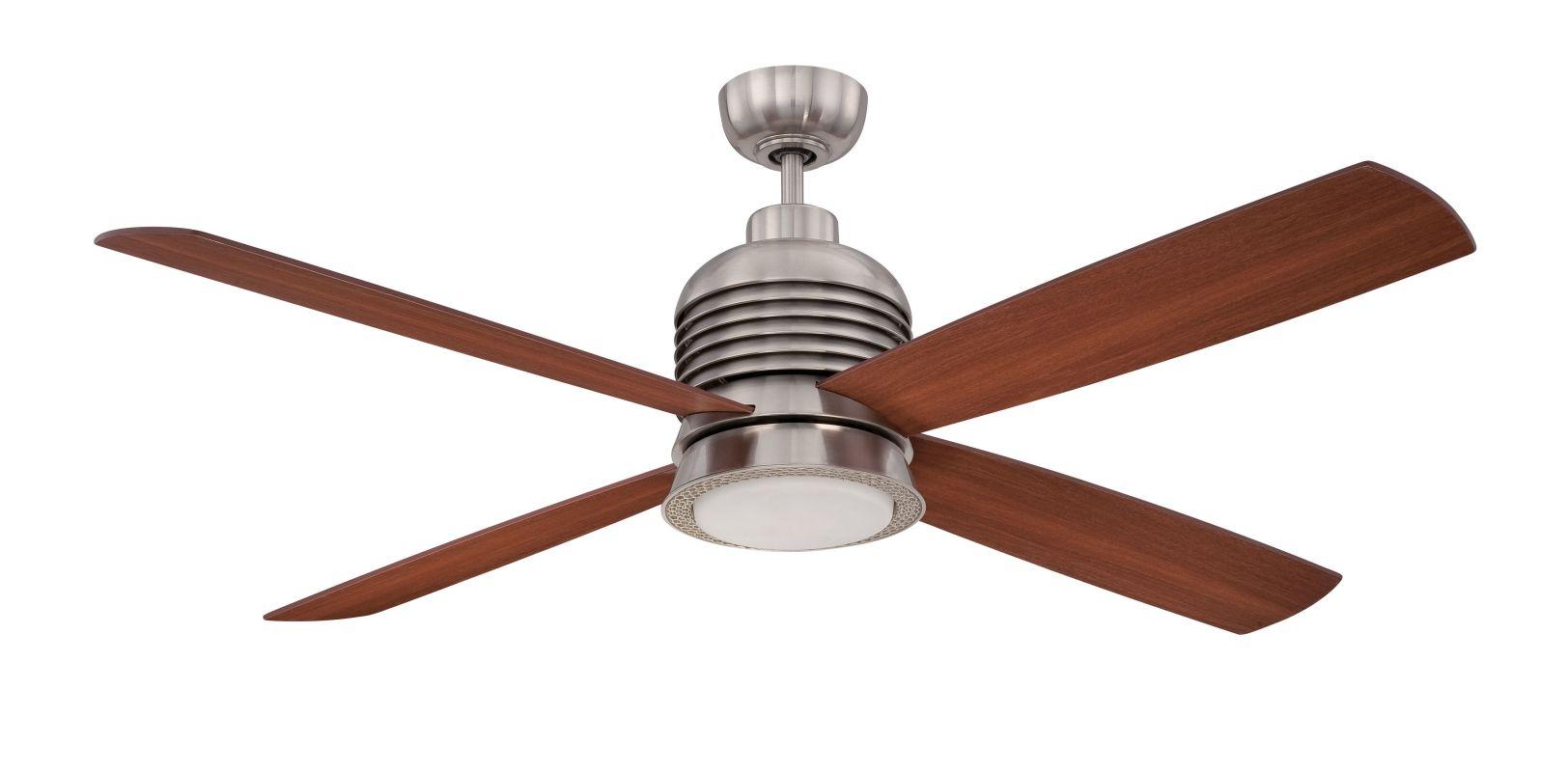 "Ellington Fans MET56 Metron 56"" 4 Blade LED Hanging Indoor Ceiling Fan"