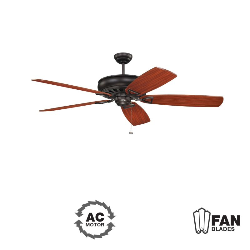 "Ellington Fans Supreme Air-62 Classic 62"" 5 Blade Indoor Ceiling Fan -"