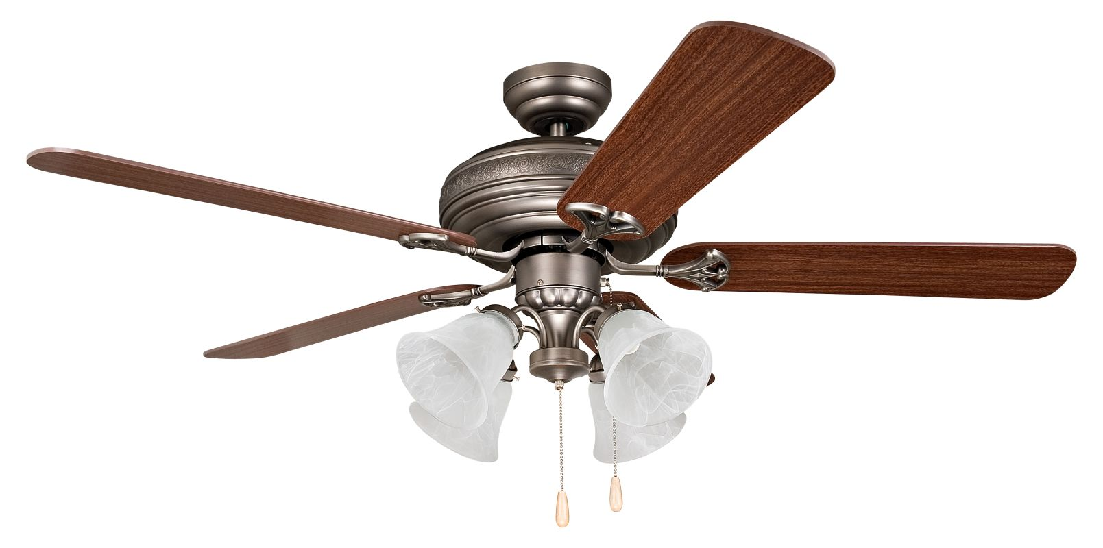 "Ellington Fans Beaufort-L Classic 52"" 5 Blade Indoor Ceiling Fan -"