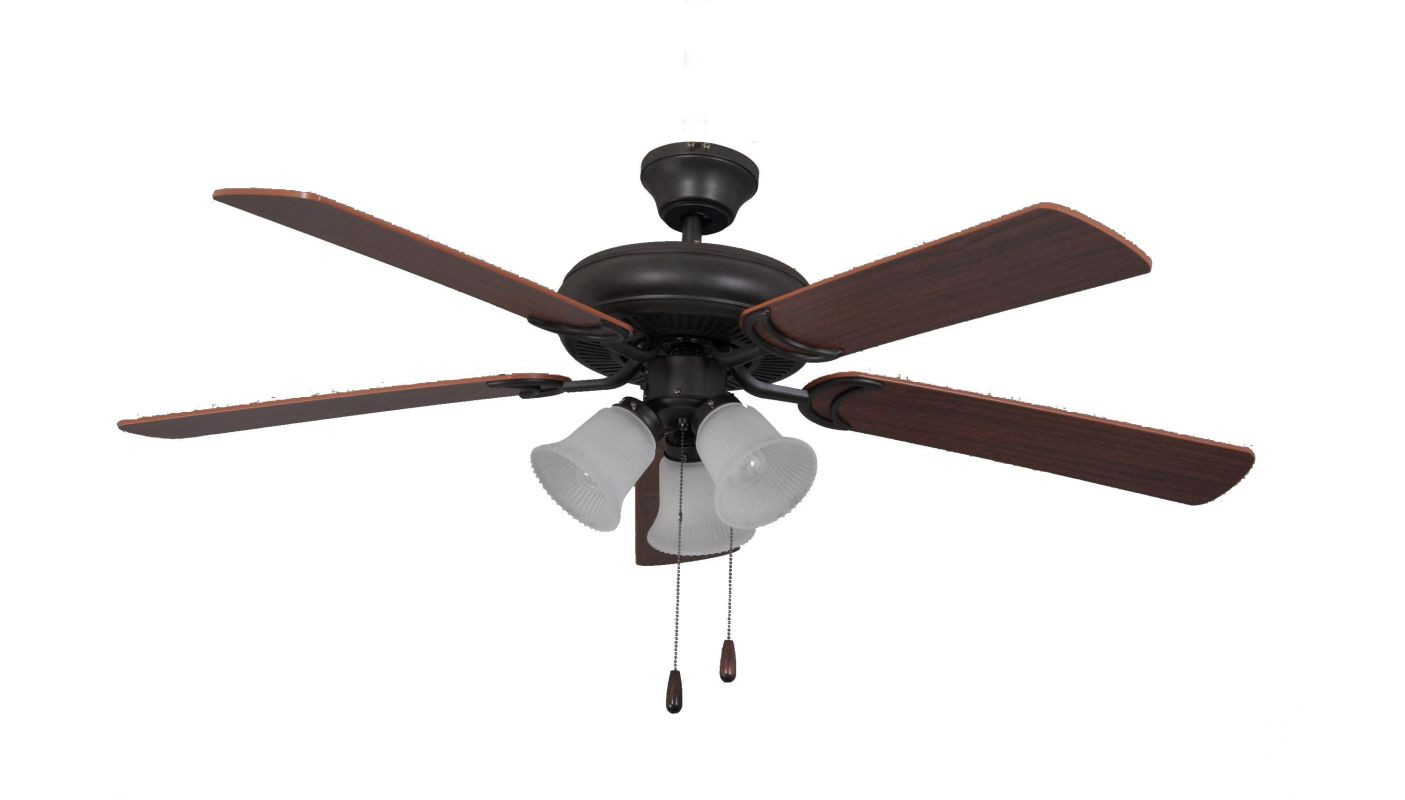"Ellington Fans Decorator´s Choice Builder 52"" 5 Blade Indoor Ceiling"