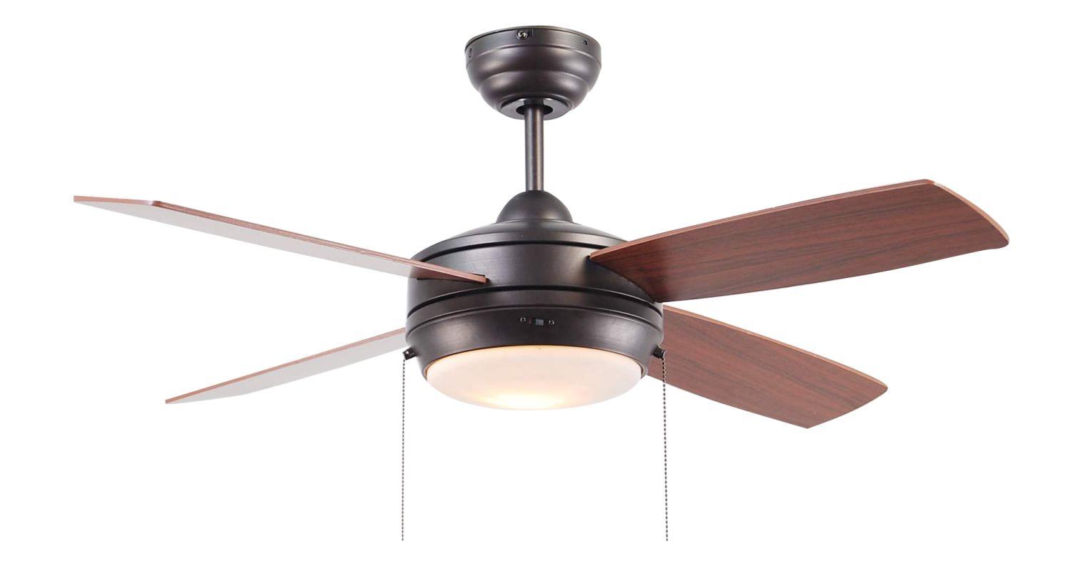 """Ellington Fans Laval-44 Modern 44"""" 4 Blade Indoor Ceiling Fan - Blades"""