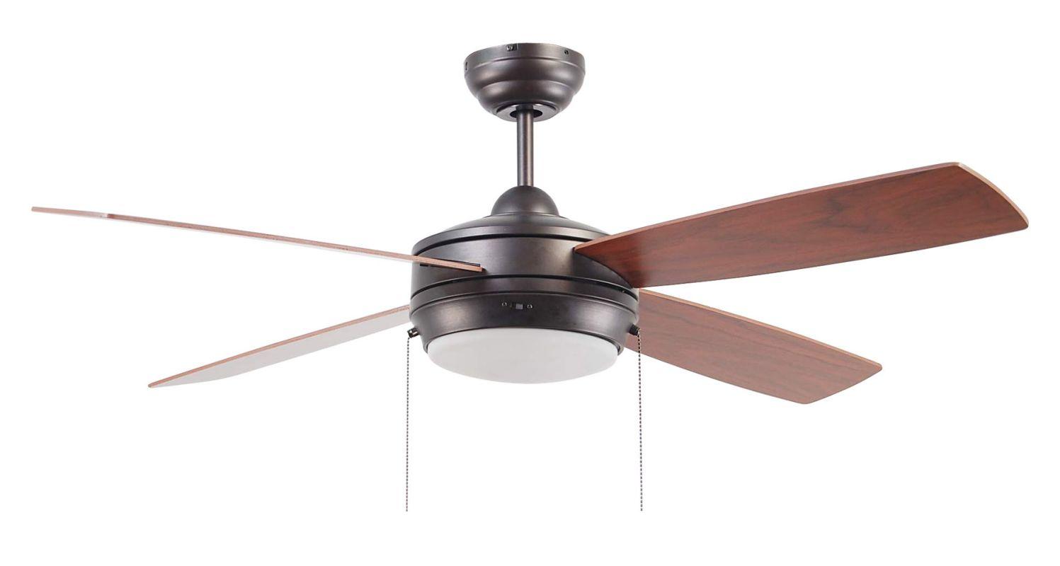 """Ellington Fans Laval-52 Modern 52"""" 4 Blade Indoor Ceiling Fan - Blades"""