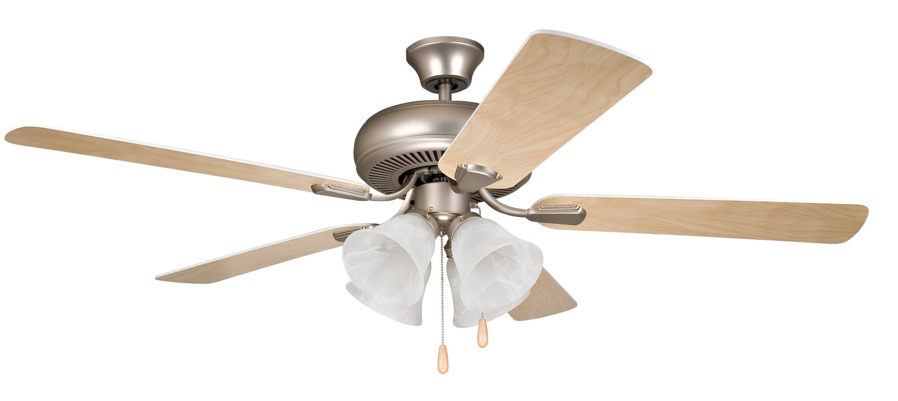 "Ellington Fans Piedmont Builder 52"" 5 Blade Indoor Ceiling Fan -"