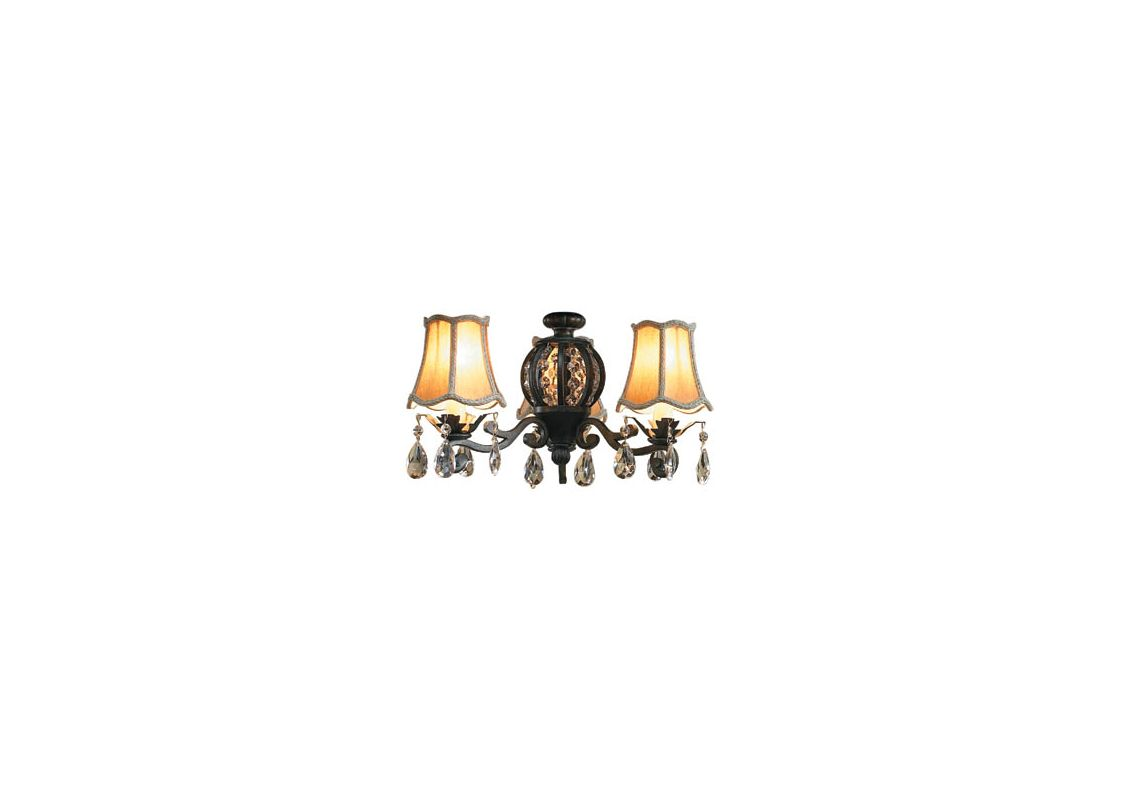 Ellington Fans ECK898AV Antoinette Light with Three 40 Watt Lights and