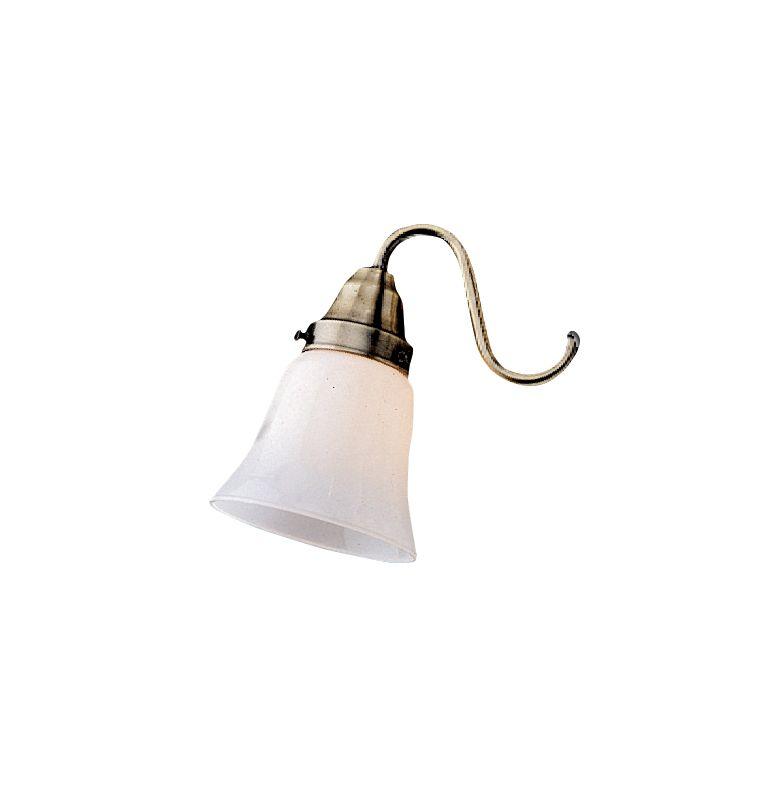 Emerson CFGW-4 Fan Light Kit Glassware Traditional White Ceiling Fan
