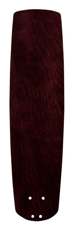 "Emerson B78 25"" Solid Wood Hand Carved Fan Blade Dark Mahogany Ceiling"
