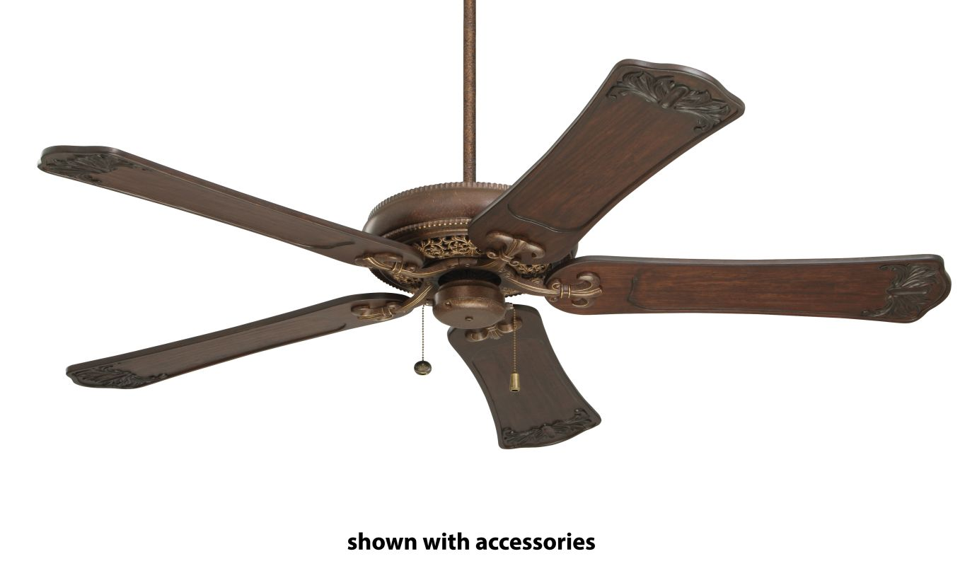 "Emerson CF4501 Crown Select 52"" 5 Blade Ceiling Fan Gilded Bronze Fans"