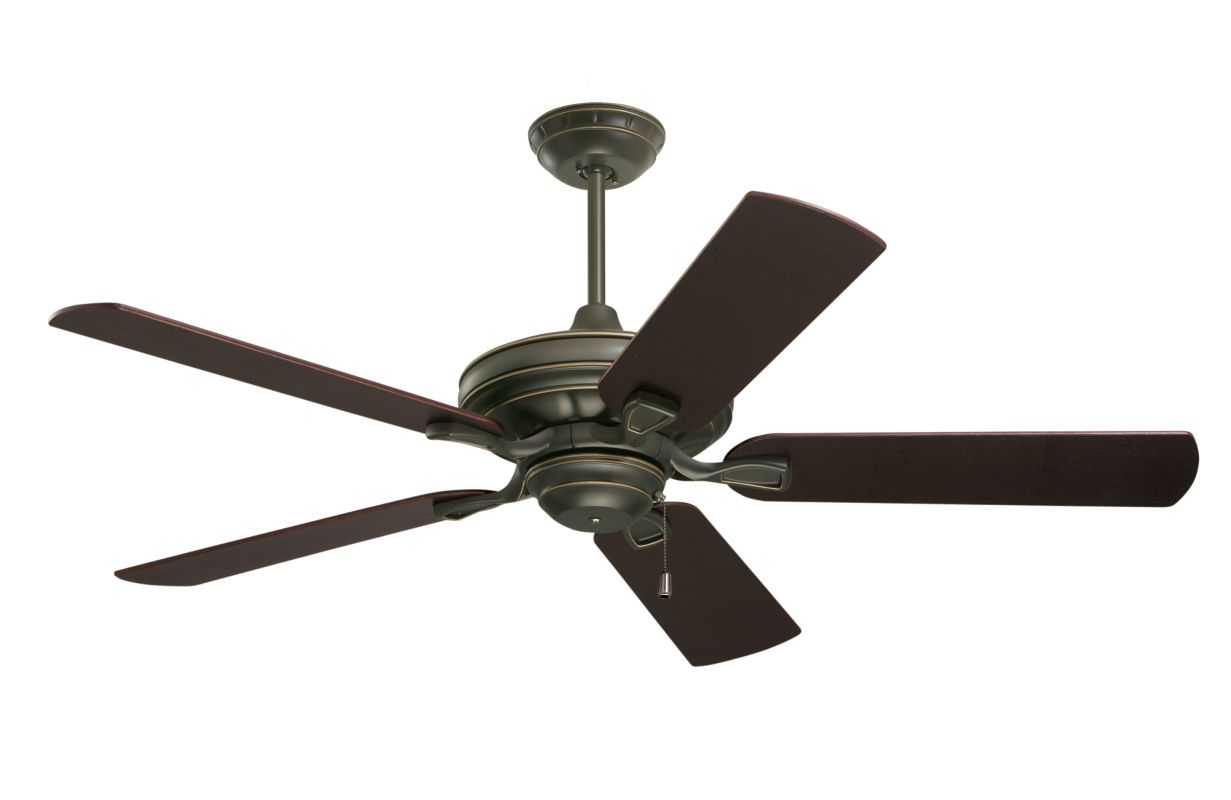 "Emerson CF452 Bella 52"" 5 Blade Ceiling Fan - Blades Included Golden"