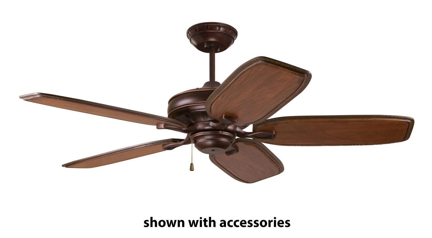 "Emerson CF452 Bella 52"" 5 Blade Ceiling Fan - Blades Included Venetian"