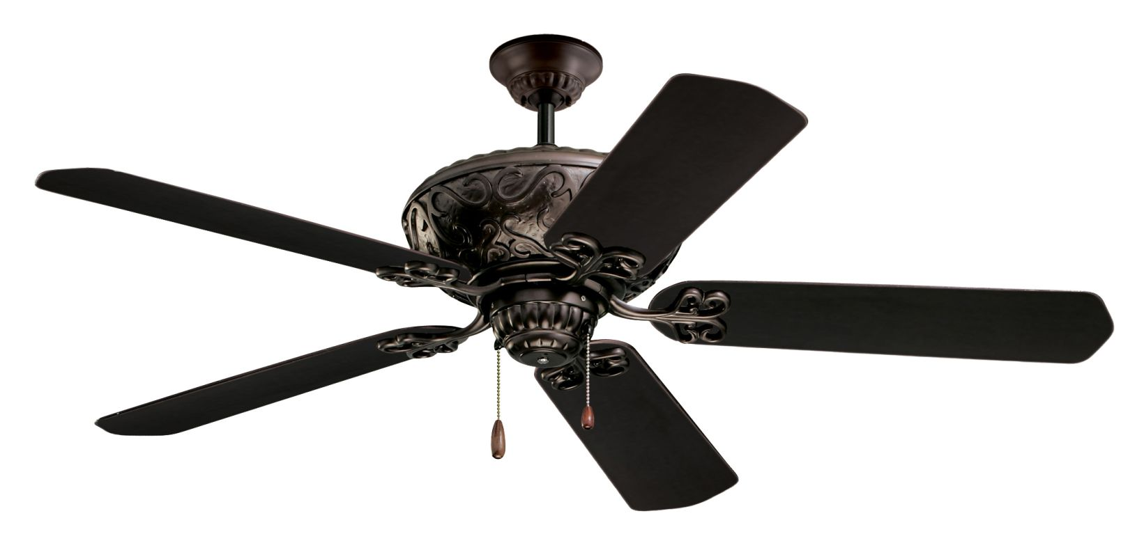 "Emerson CF670 Devonshire 52"" 5 Blade Ceiling Fan - Blades Included Oil"