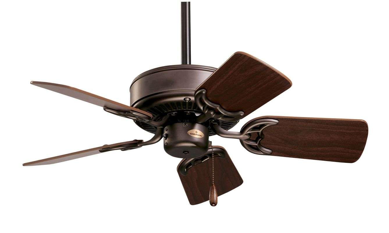 "Emerson CF702 Northwind 29"" 5 Blade Ceiling Fan - Blades Included Oil"