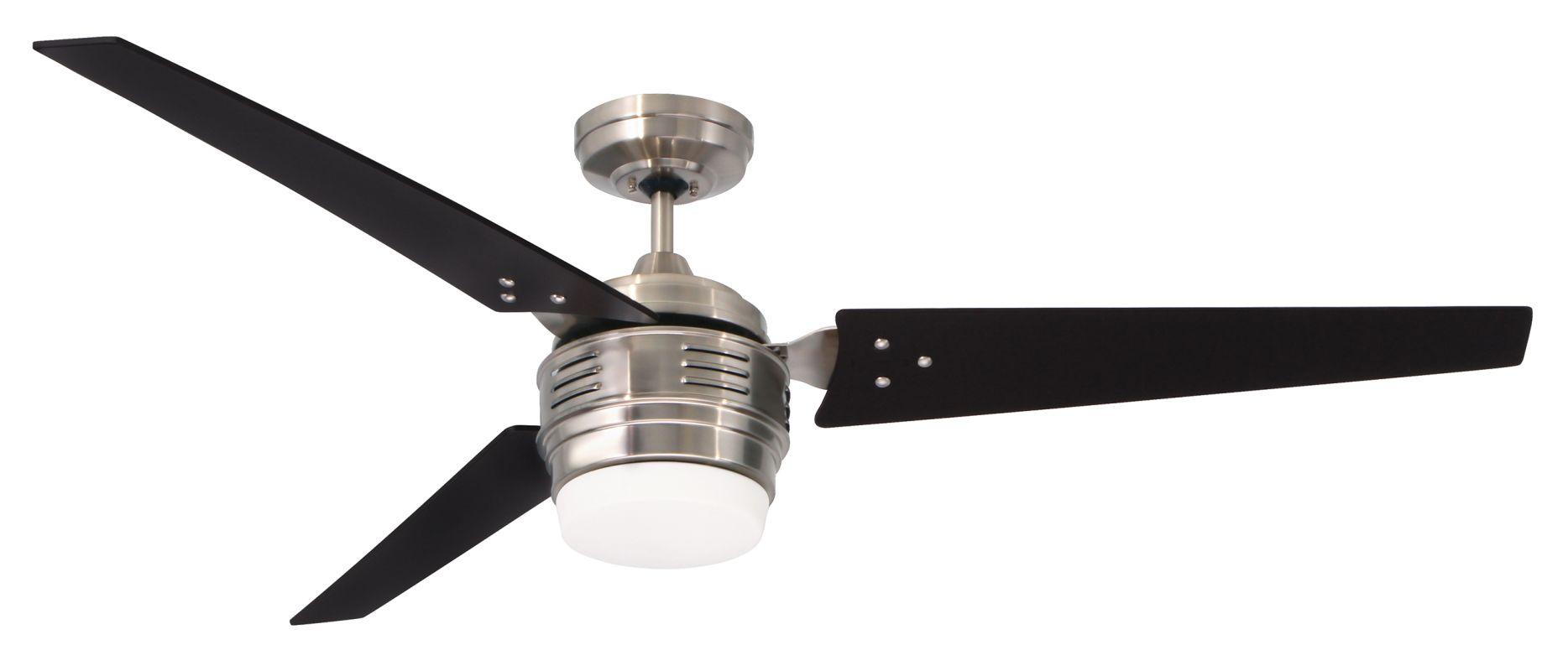 "Emerson CF766 4th Avenue 60"" 3 Blade Ceiling Fan - Blades Light Kit"
