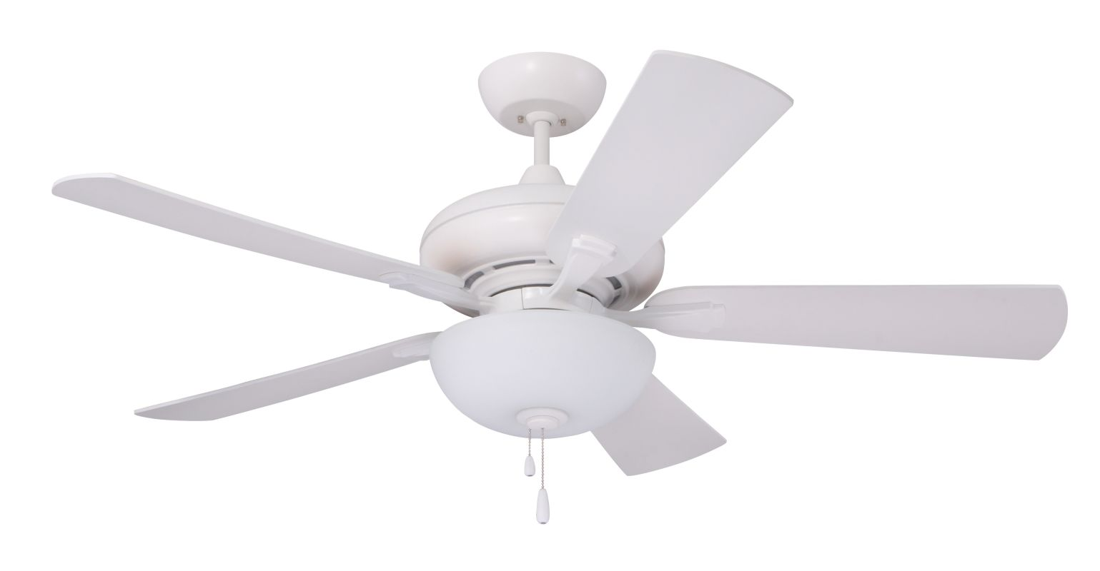 """Emerson CF776 Monterey Lumina 52"""" 5 Blade Ceiling Fan - Blades and"""