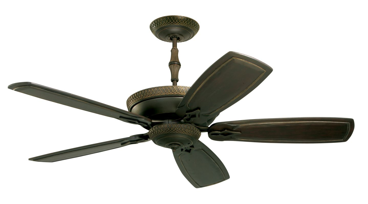 "Emerson CF830 Monaco 60"" 5 Blade Indoor Ceiling Fan - Blades Included"