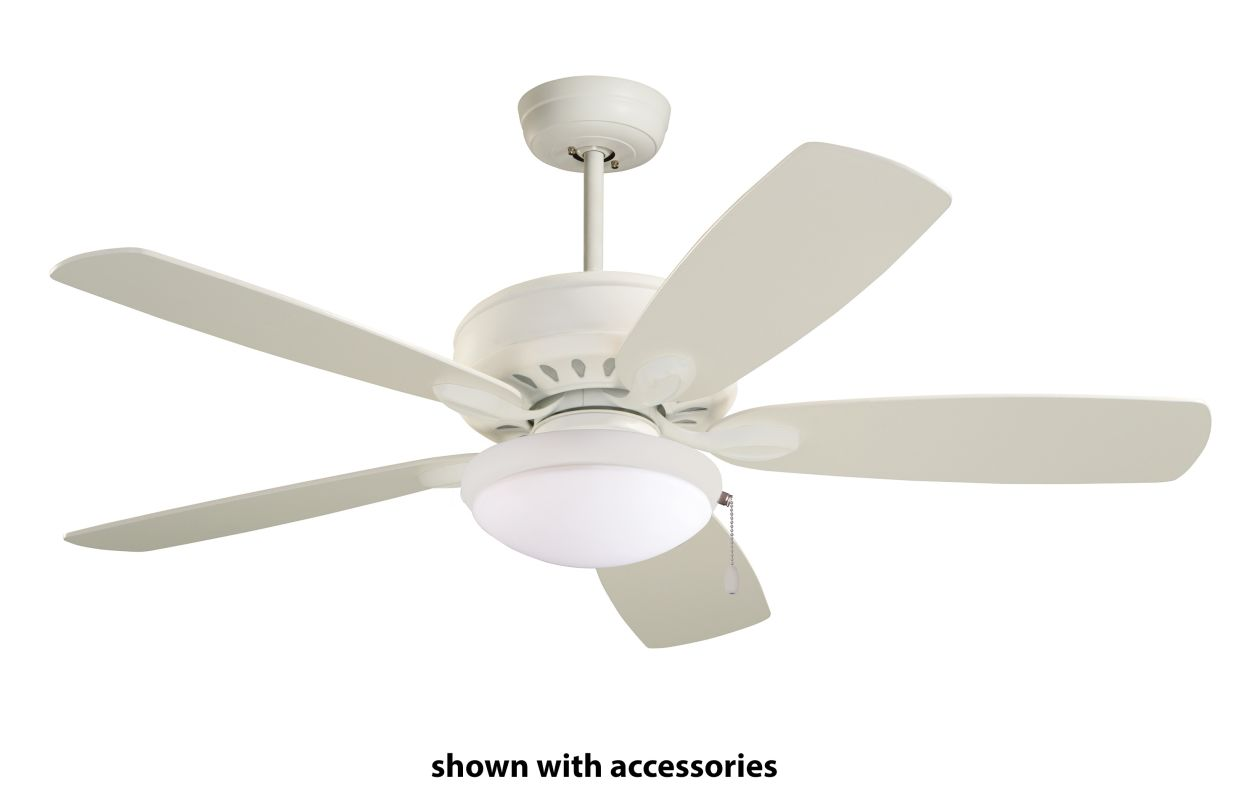 "Emerson CF901 Prima 52"" 5 Blade Ceiling Fan - Blades Included Satin"