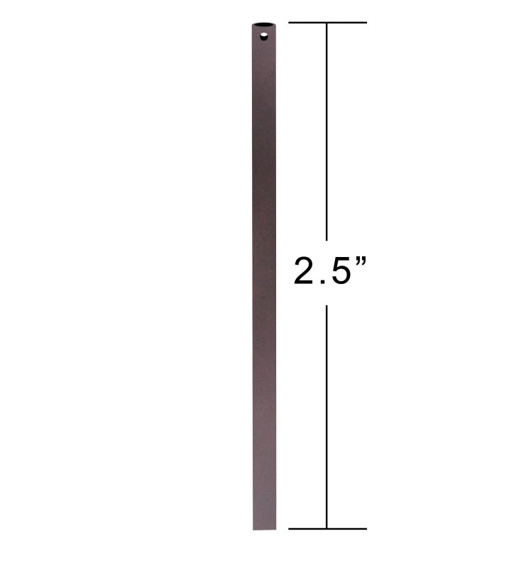 "Emerson CFDR25 2.5"" Downrod / Close to Ceiling Oil Rubbed Bronze"