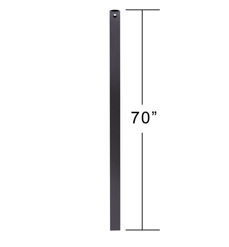 """Emerson CFDR70 70"""" Downrod for Ceiling Fan Barbeque Black Ceiling Fan"""