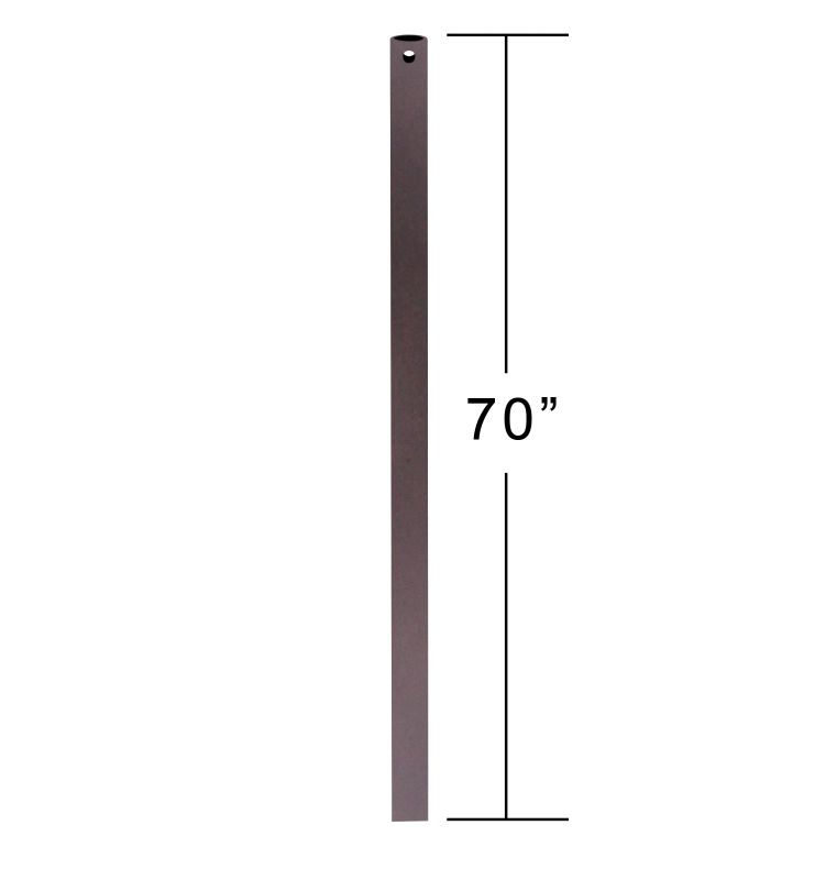 """Emerson CFDR70 70"""" Downrod for Ceiling Fan Oil Rubbed Bronze Ceiling"""