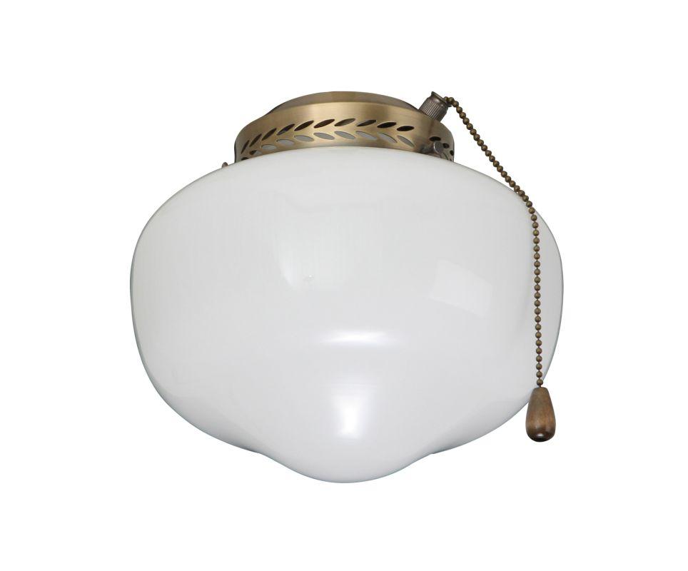 Emerson CFSLK1 Fan Light Kit for 4 Inch Fitter Antique Brass Ceiling Sale $45.00 ITEM: bci291782 ID#:CFSLK1AB UPC: 30844006319 :