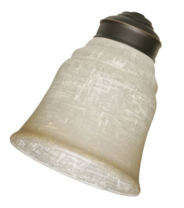 Emerson G48 Fan Light Kit Replacement Glass Quantity of 4 Linen Glass