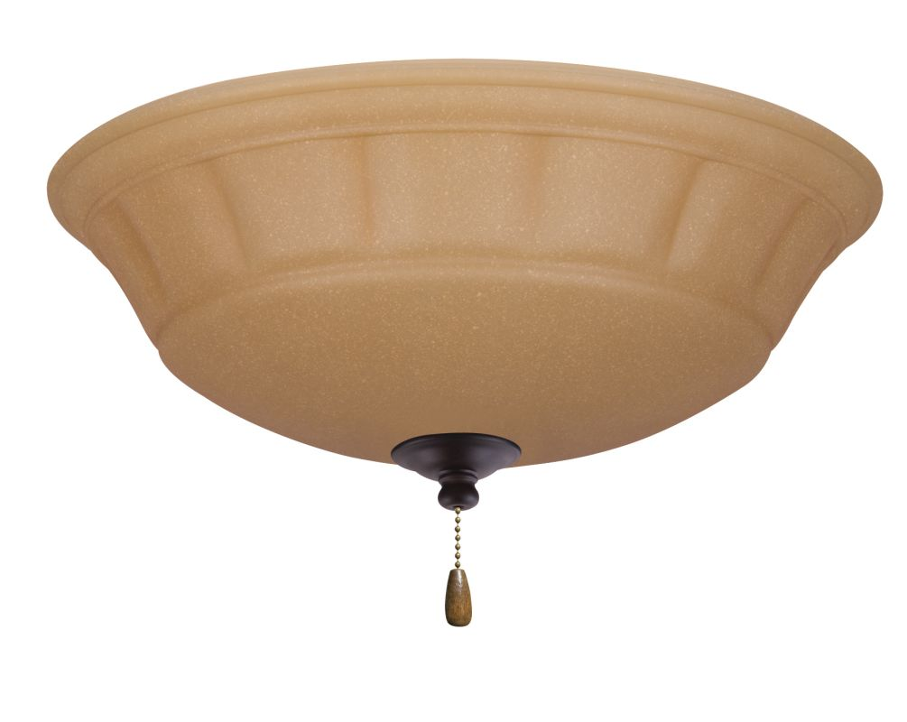 Emerson LK140 Grande 3 Light Ceiling Fan Light Kit Oil Rubbed Bronze