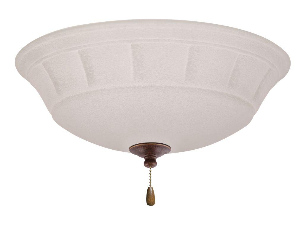 Emerson LK141 Grande 3 Light Ceiling Fan Light Kit Gilded Bronze