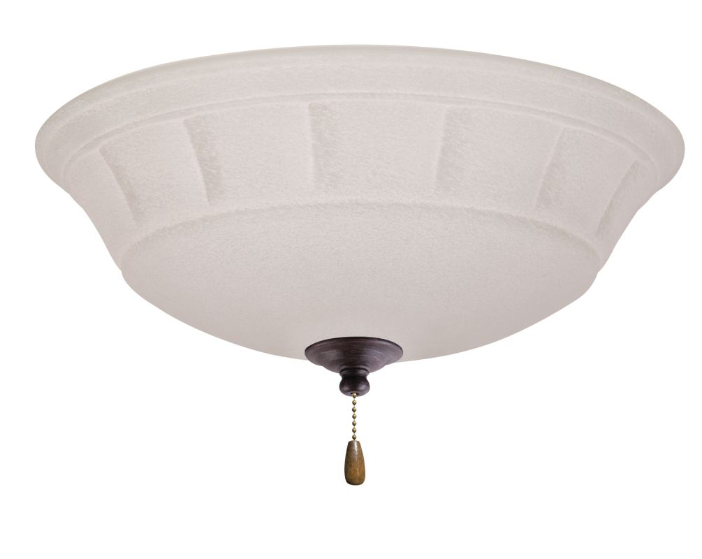 Emerson LK141LED Grande White Mist 1 Light LED Ceiling Fan Light Kit
