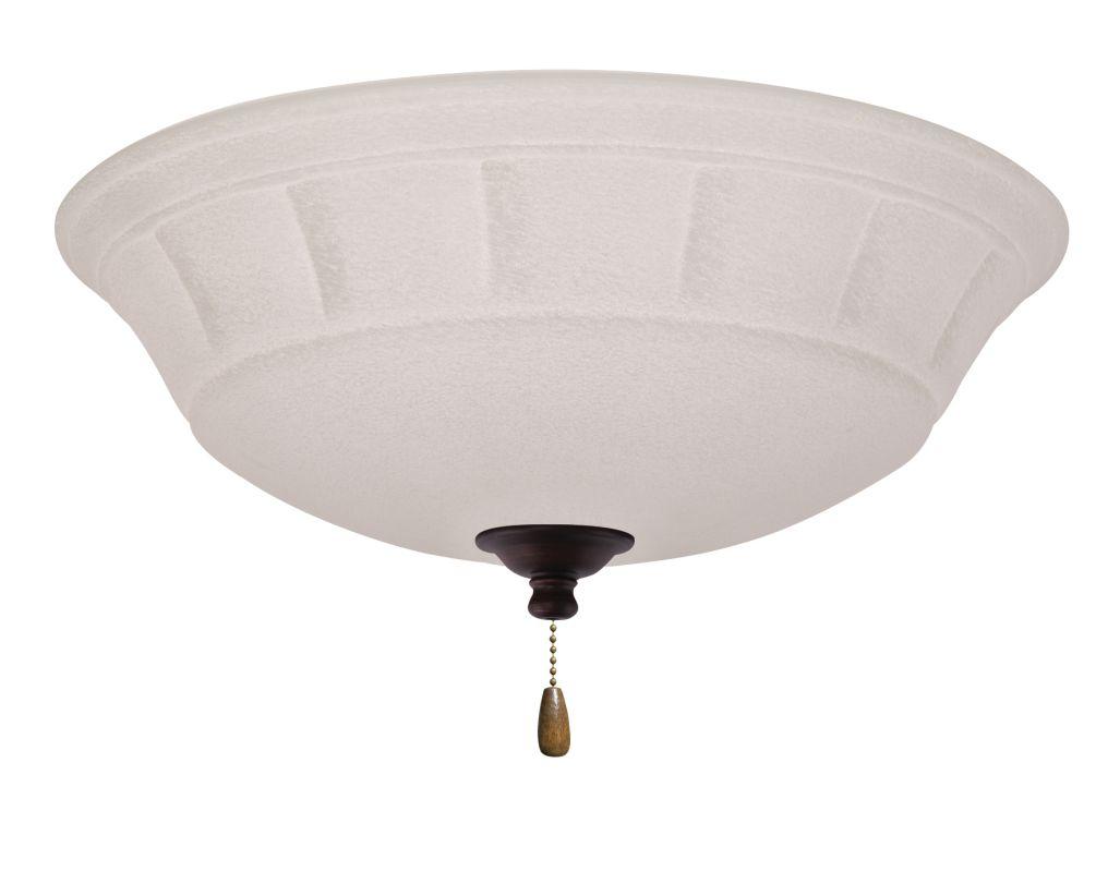 Emerson LK141 Grande 3 Light Ceiling Fan Light Kit Venetian Bronze