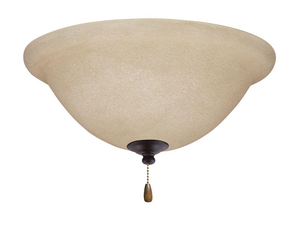 Emerson LK70LED Amber Mist 1 Light LED Ceiling Fan Light Kit Oil