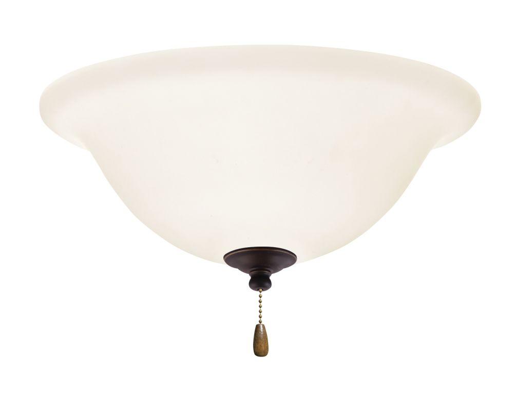Emerson LK74 Bowl Light Fixture Golden Espresso Ceiling Fan