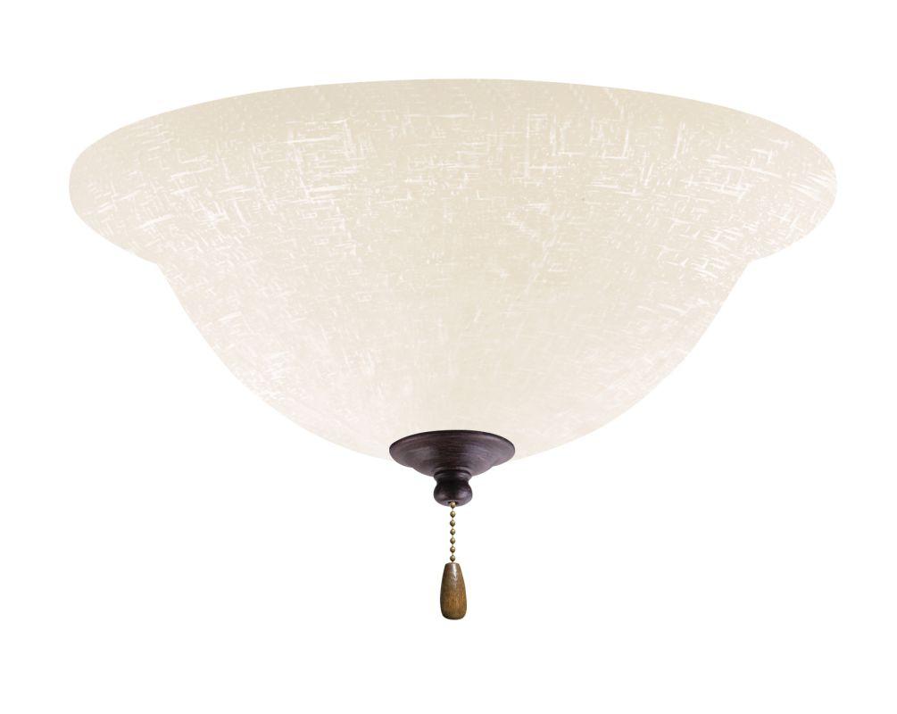 Emerson LK77LED White Linen 1 Light LED Ceiling Fan Light Kit Sale $159.00 ITEM: bci2630922 ID#:LK77LEDDBZ UPC: 30844033469 :
