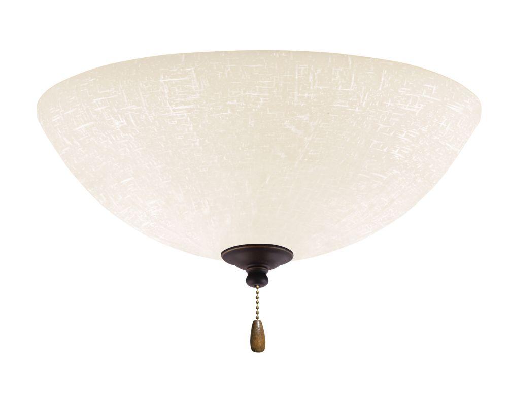 Emerson LK83 Bowl Light Fixture Golden Espresso Ceiling Fan