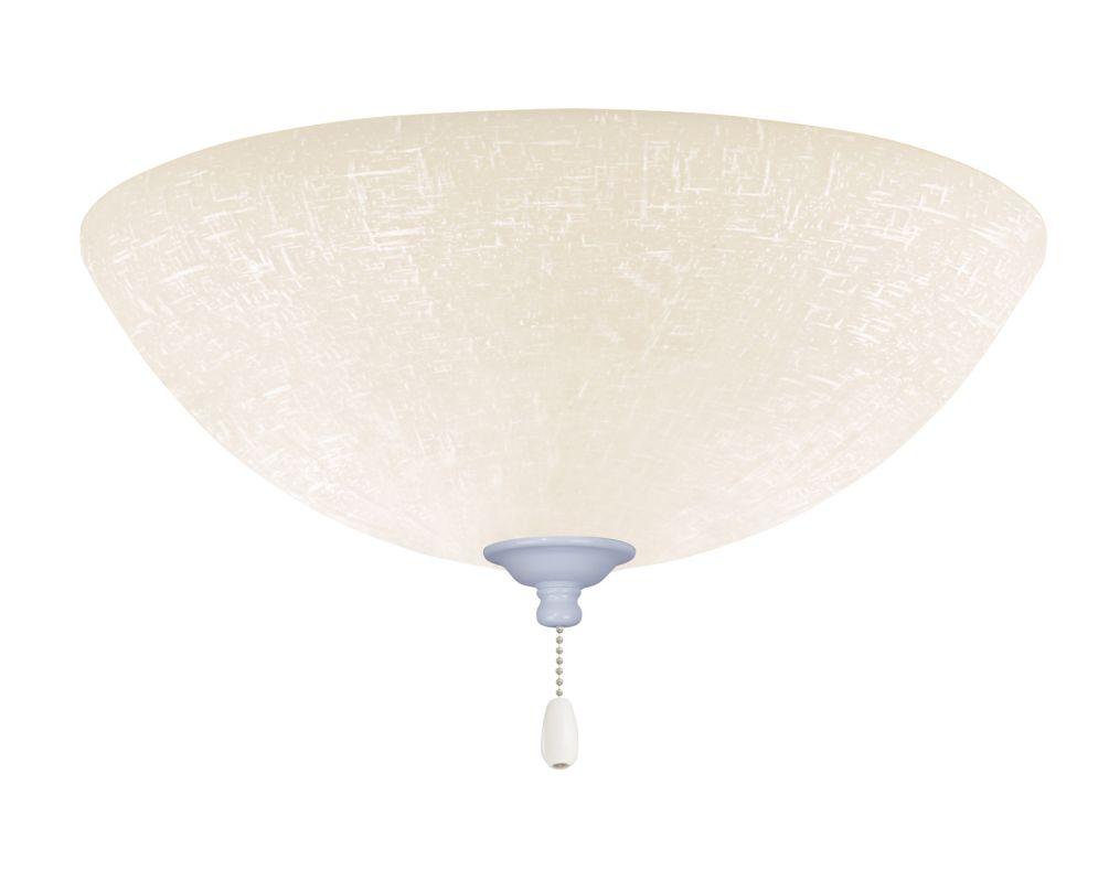 Emerson LK83 Bowl Light Fixture Appliance White Ceiling Fan