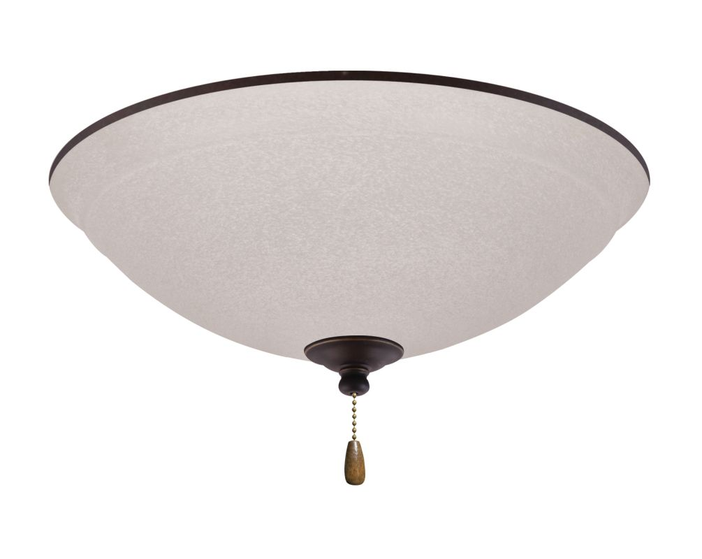 Emerson LK93 Ashton 3 Light Ceiling Fan Light Kit Golden Espresso