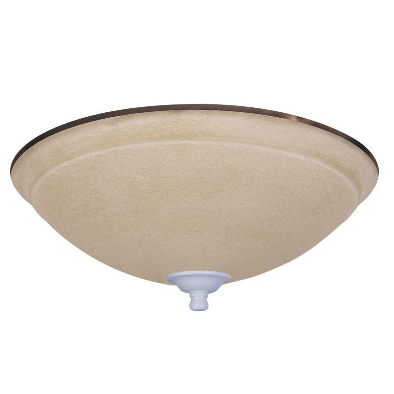 Emerson LK92-LQ CLOSEOUT - 3 Light Amber Mist Ceiling Fan Light Kit