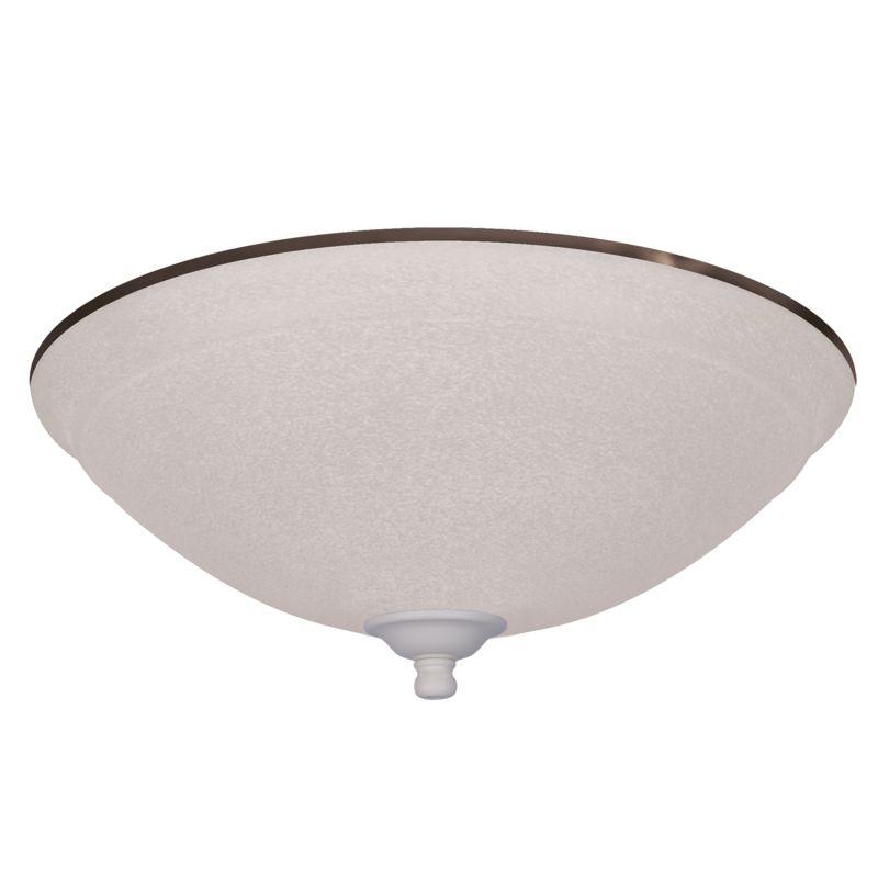 Emerson LK93-LQ CLOSEOUT - 3 Light Amber Mist Ceiling Fan Light Kit