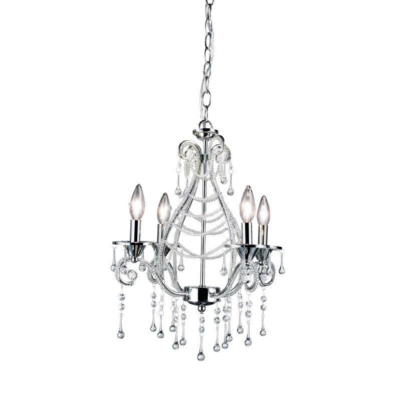 Eurofase Lighting 12240 Prelude 4 Light Candle Style Crystal