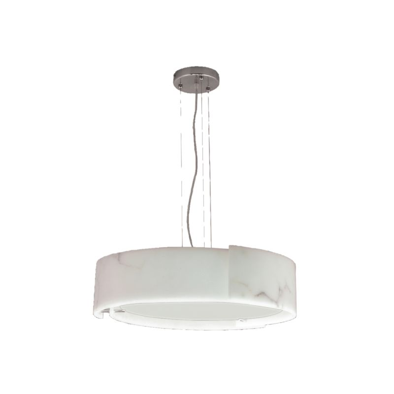 Eurofase Lighting 12531-028 Chrome Contemporary Dervish Pendant